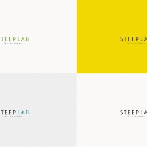 Steep Lab 鈥?20Create a memorable logo for a premium online loose leaf tea store