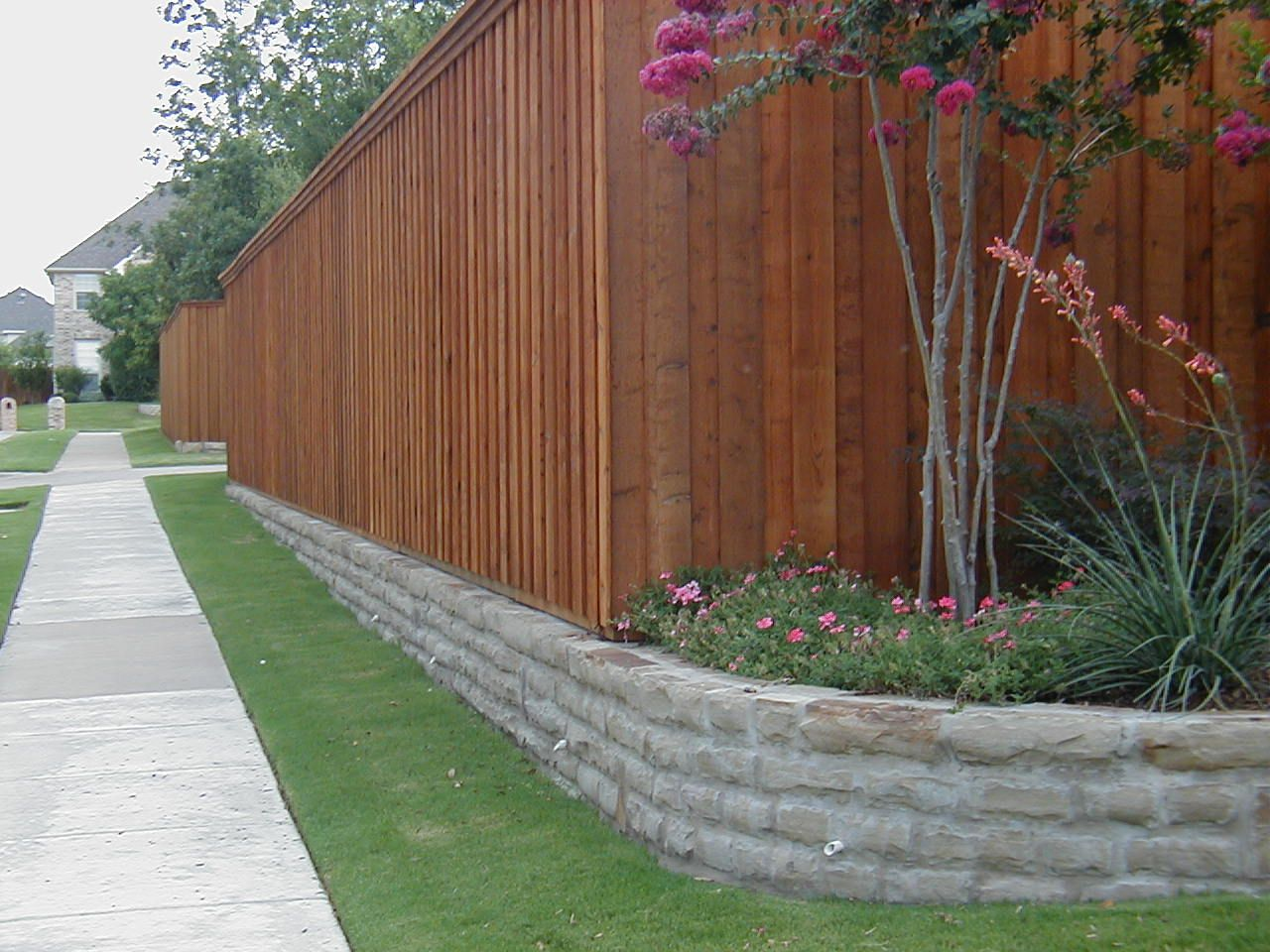 Your Permit Solution Fence And Retaining Wall Permit Landscaping Retaining Walls Backyard Fences Retaining Wall Fence