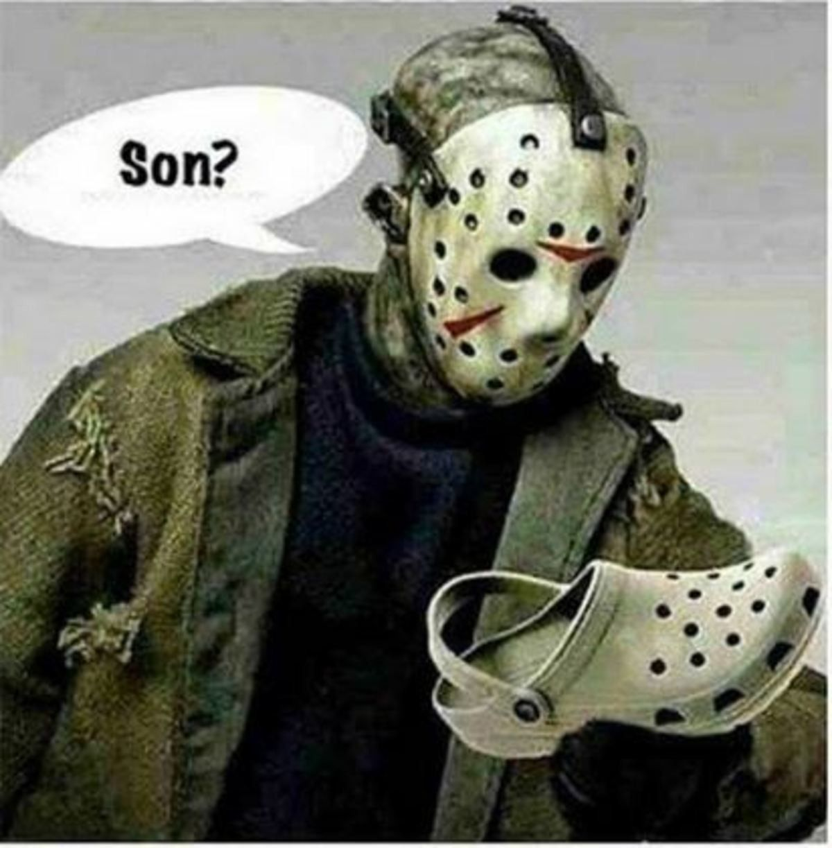 Jason Mask Grocery Shopping Meme