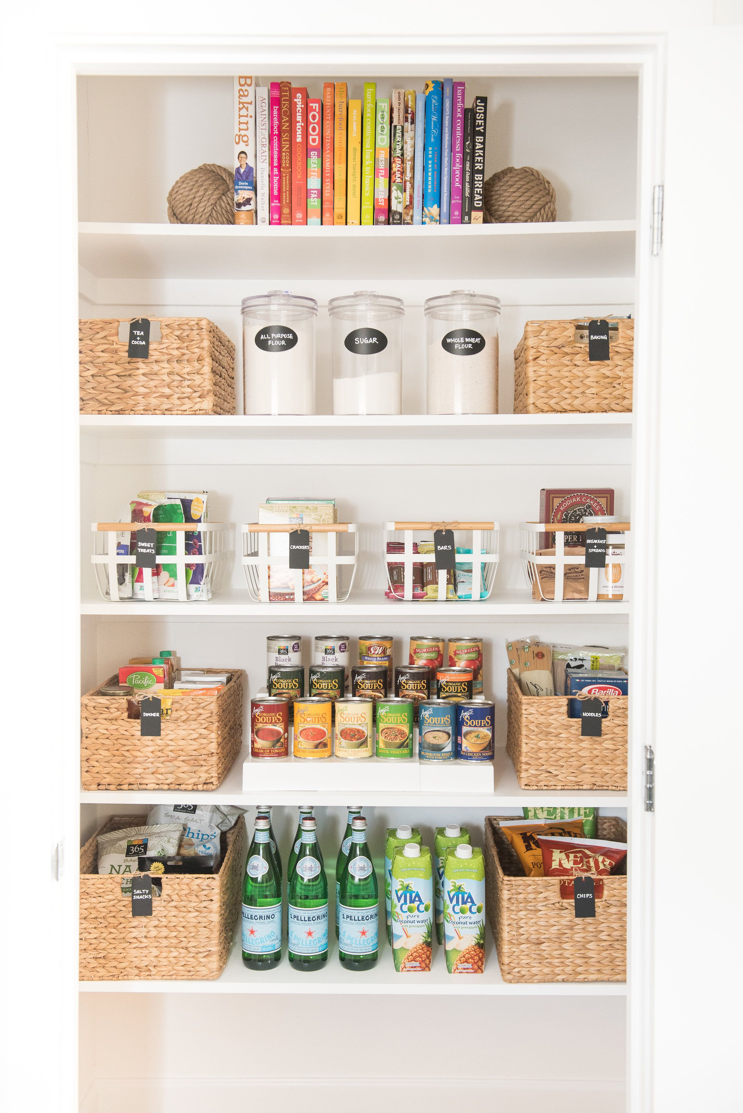 diy pantry organizing o ganize pantry organization. Black Bedroom Furniture Sets. Home Design Ideas