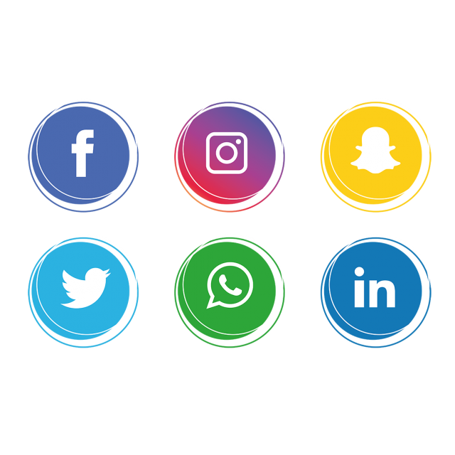 Social Media Icons Collection, Social Media Icons, Social
