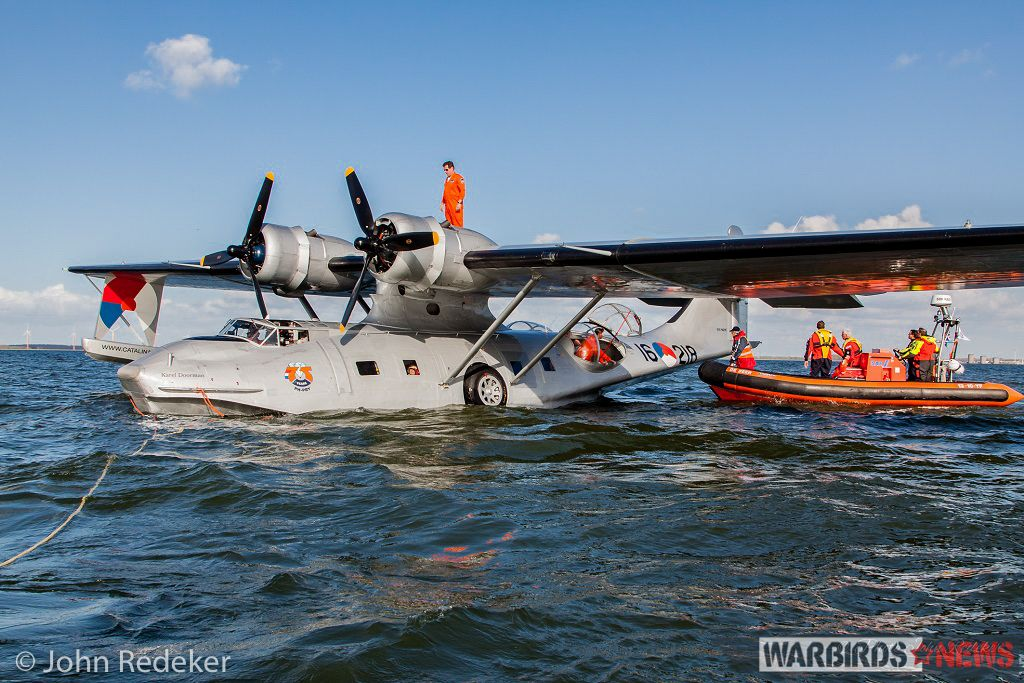 Splashdown For World's Oldest Flying Catalina (With images