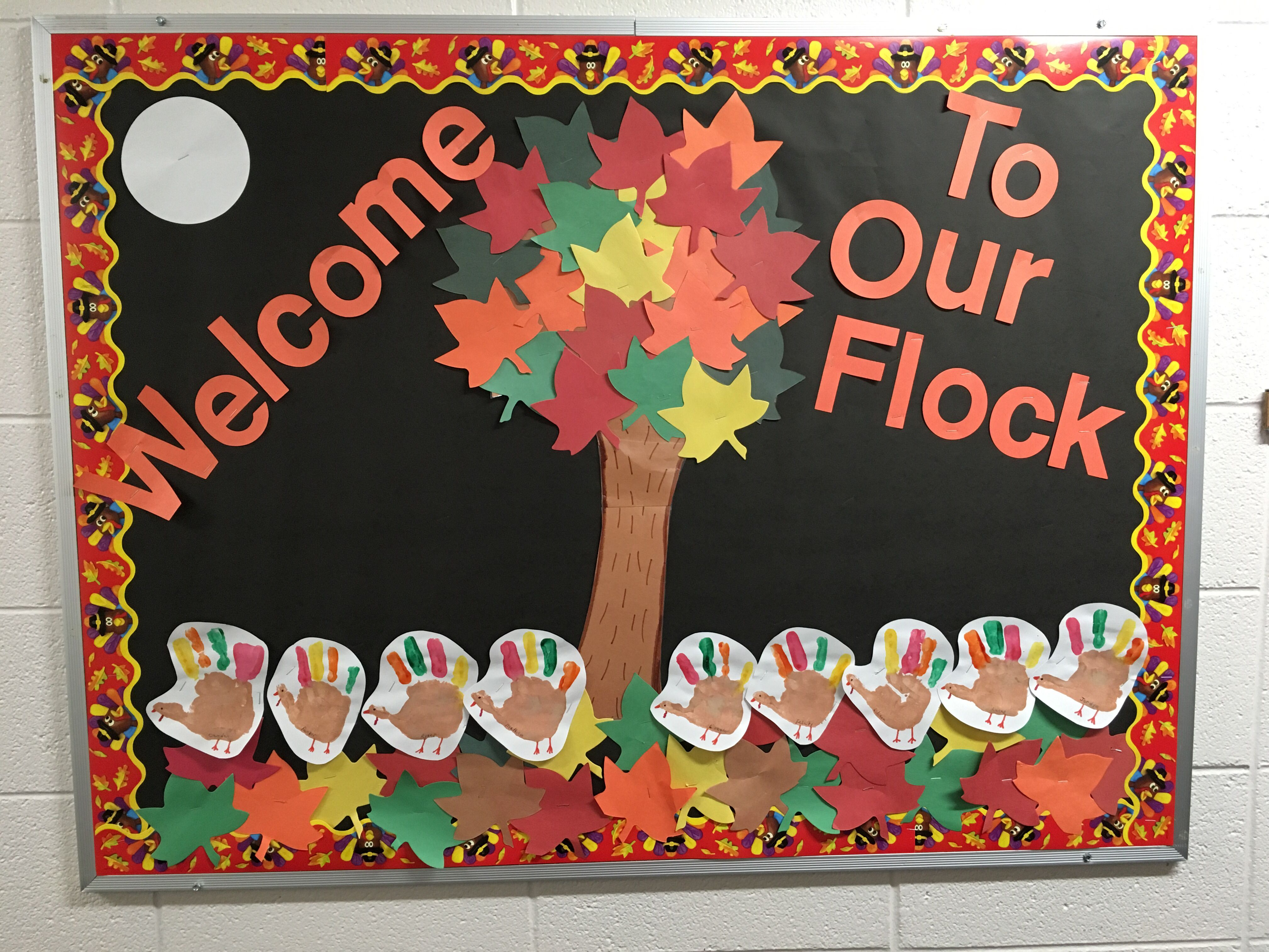 Thanksgiving Bulletin Board Boards Classroom