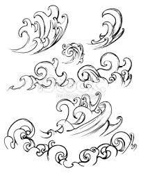 Dessiner une vague recherche google dessins en 2018 pinterest dessin vague dessin et vague - Vague coloriage ...