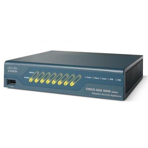 Cisco ASA550550BUNK8 Security Appliance 8 Port 50U