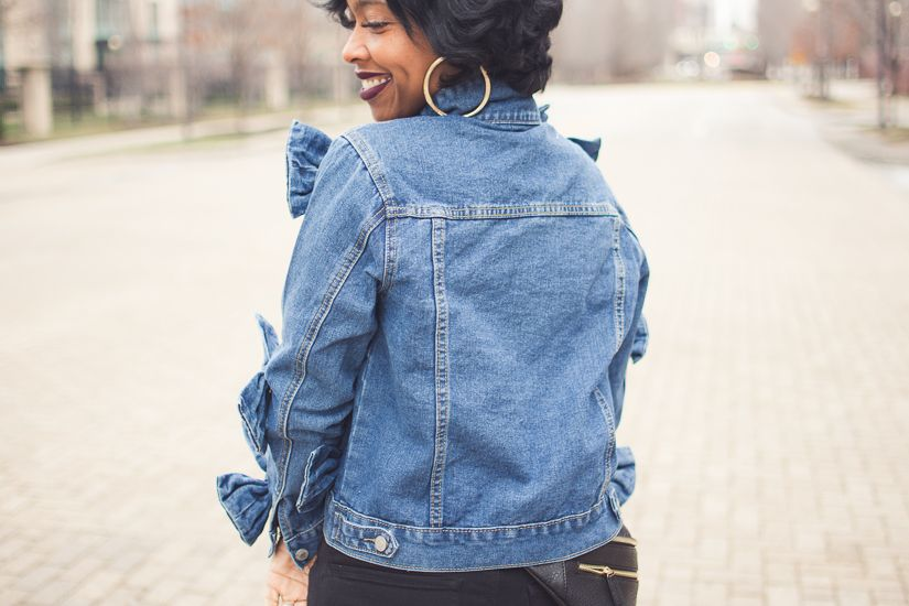 Denim Jacket, Indianapolis Style Blog, Express Denim Jeans, Steve Madden Troopa, Sweenee Style Blog, Sweenee Style, Indianapolis Fashion Blog
