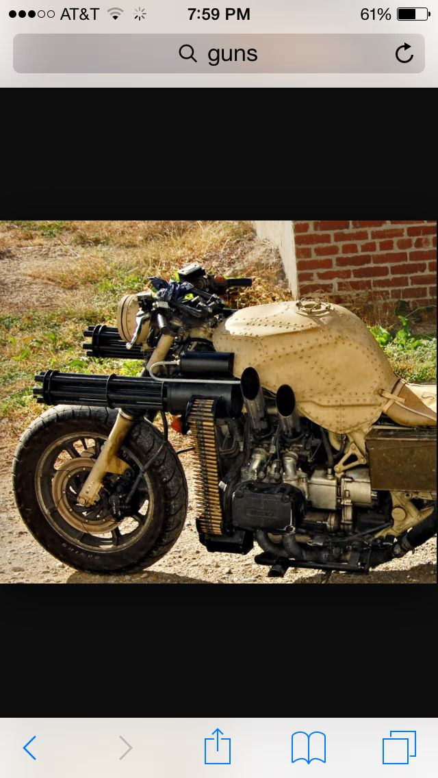 Coolest motorcycle ever!