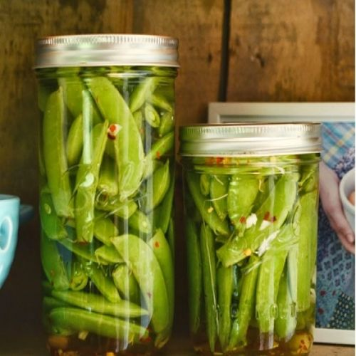 Quick Pickled Sugar Snap Peas Recipe