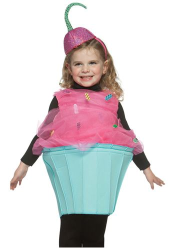 Toddler Cupcake Costume Cupcake costume, Costumes and Food costumes - halloween costume girl ideas