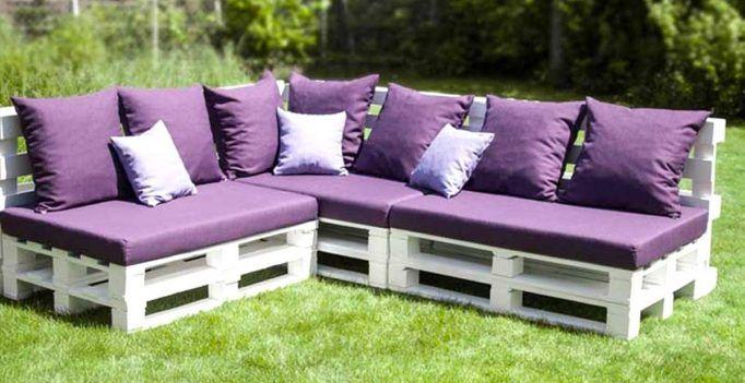 Fabriquer un canapé en palette! 20 idées + vidéo tutoriel... | DIY ...