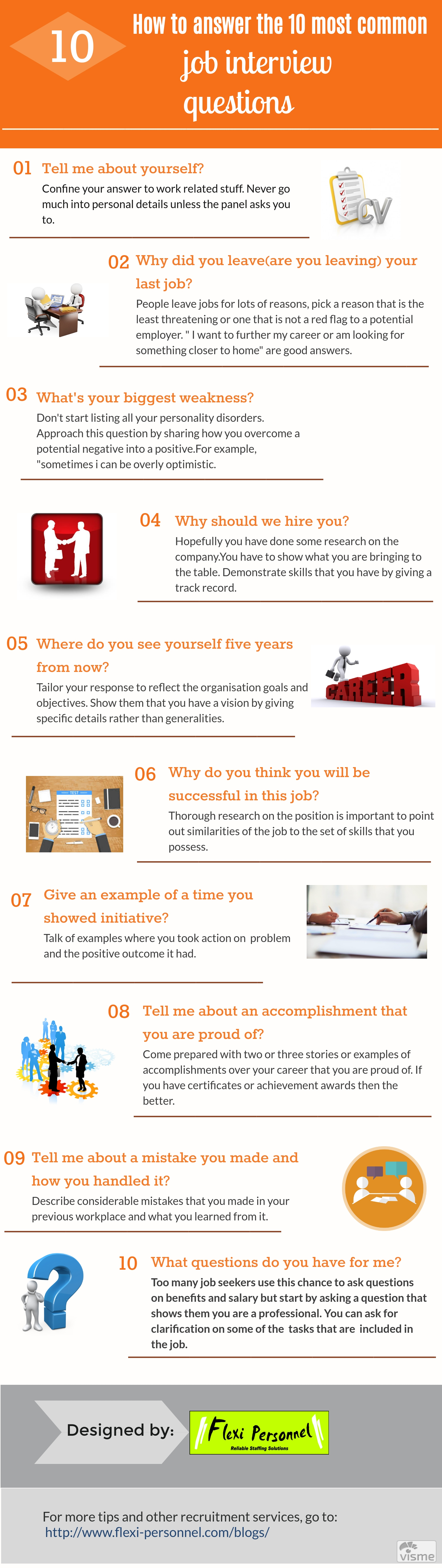 here are top 10 questions commonly ask in interviews and how to answer them - Where Do You See Yourself In 10 Years Time