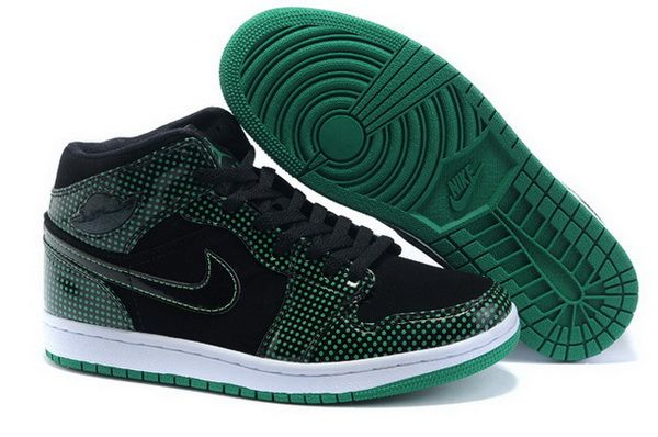 super popular af07c 6ee28 Mens Nike Air Jordan 1 Retro Shoes 01 Black Green  Men AJ 1 Retro-01  -   86.19   Wholesale Cheap Air Jordan,Wholesale Nike Air Max,Sale Nike Shox  Shoes with ...