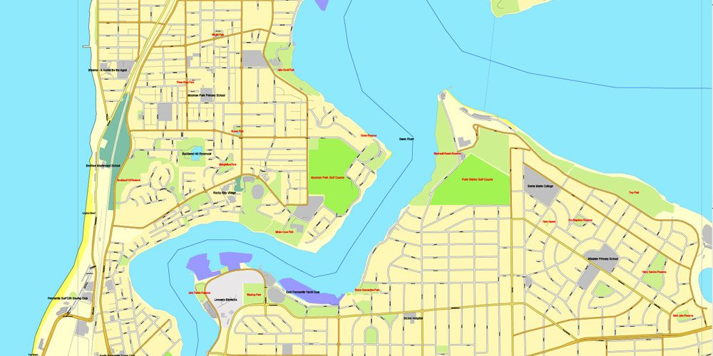 Pdf map perth australia exact vector street city plan map v309 pdf map perth australia exact vector street city plan map v309 full editable adobe pdf full vector scalable editable text format of street names gumiabroncs Image collections