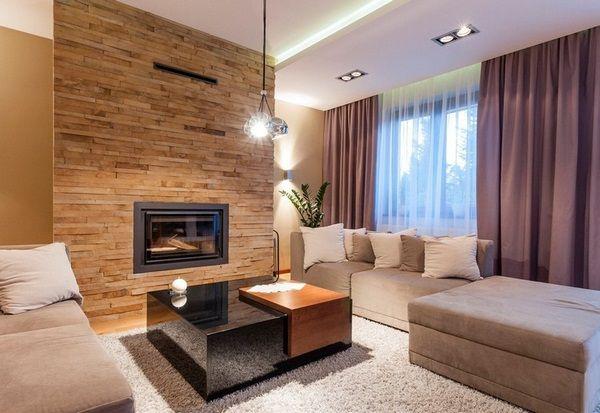 les carreaux de mur vivant aspect de la pierre carreaux de travertin noyer buffet espaces de. Black Bedroom Furniture Sets. Home Design Ideas