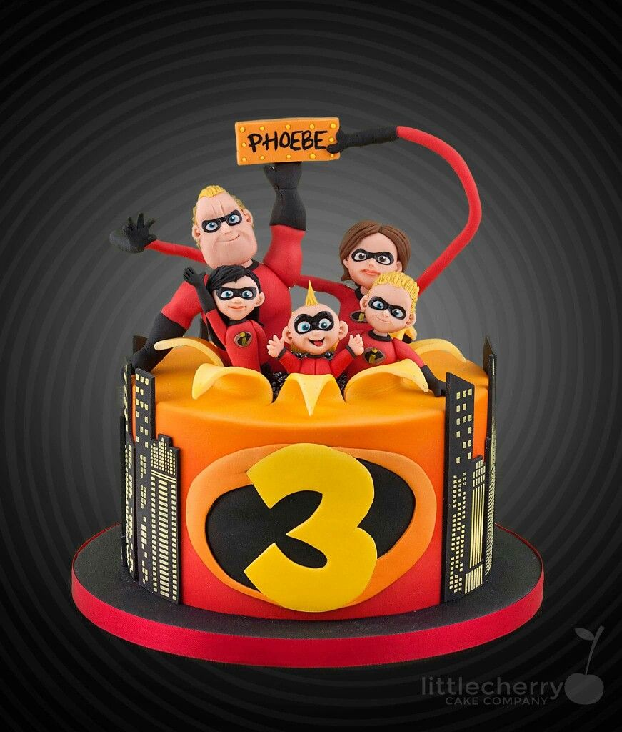 Incredibles Birthday Party, 3rd