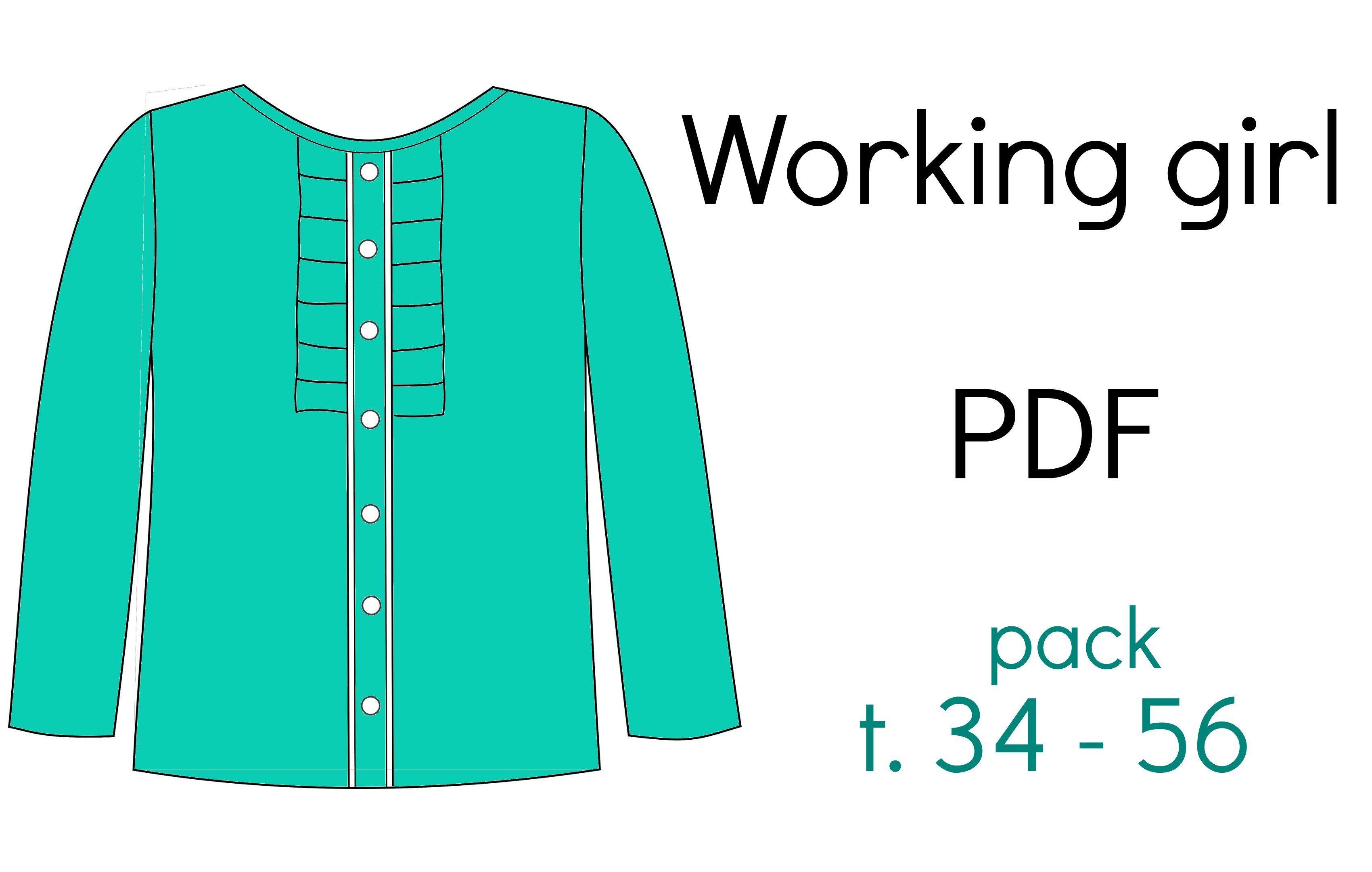 """PACK Patron """"Working girl"""" - PDF (34-56)"""
