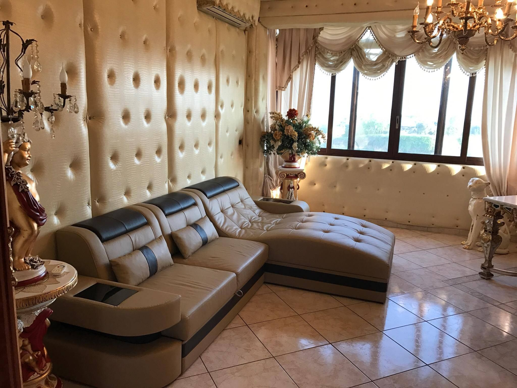 Das orientalisch eingerichtete #Wohnzimmer wird durch ...