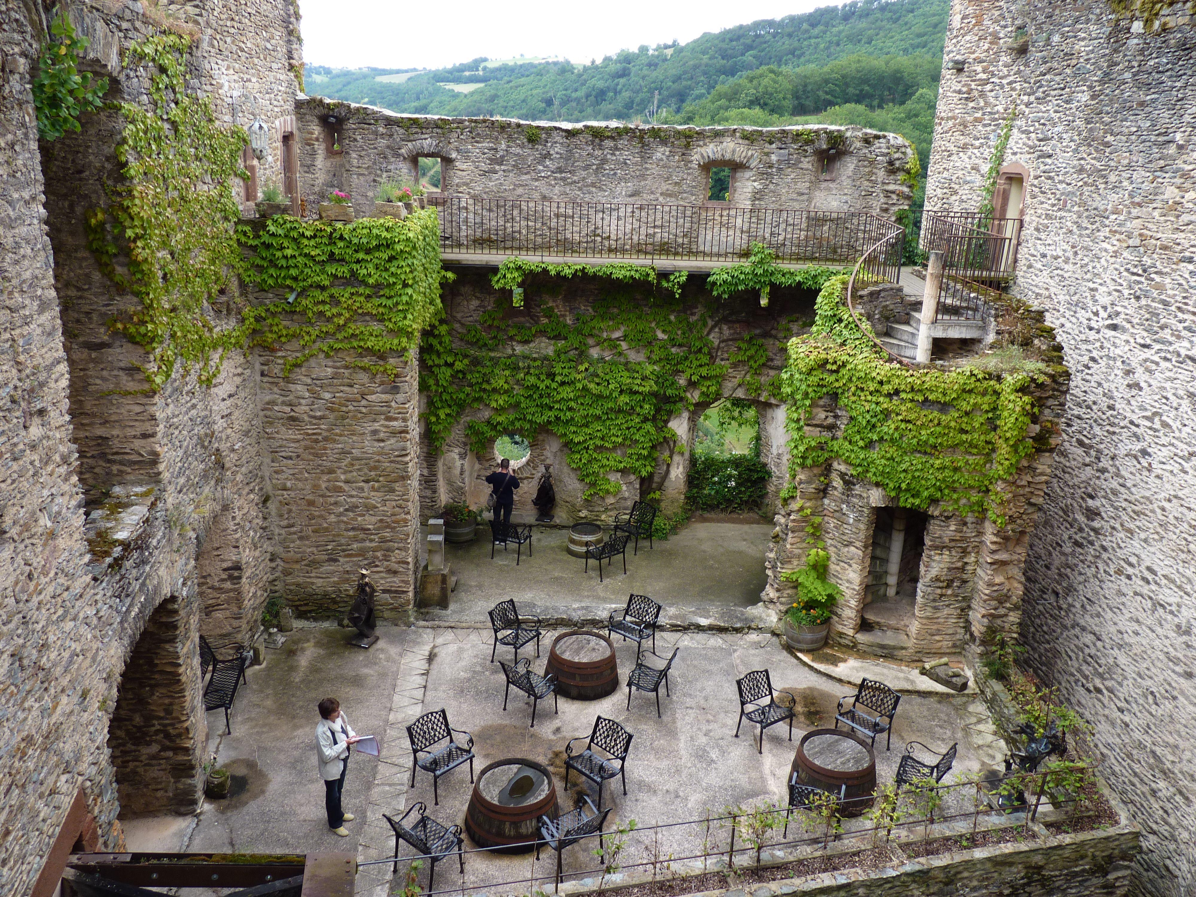 Château de Belcastel, Belcastel, Rignac, Rodez, Aveyron