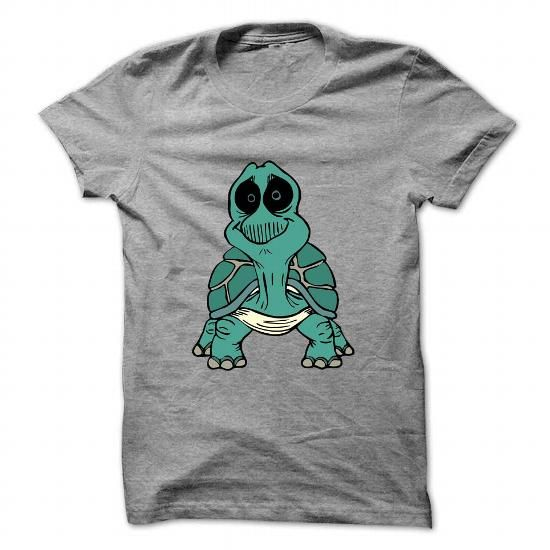 Cool Turtle front view T shirts