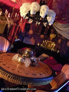 Fortune Teller Room Google Search On Halloween We Wear Black