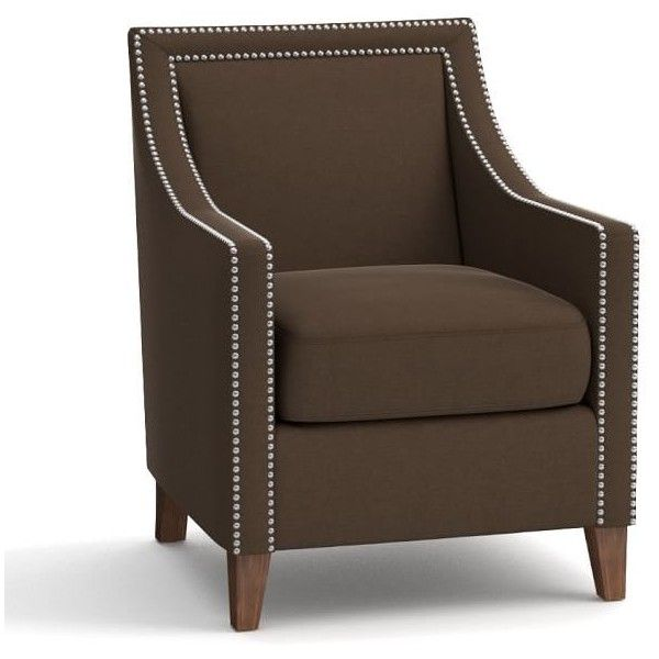 Pottery Barn Everly Upholstered Armchair 949 Liked On