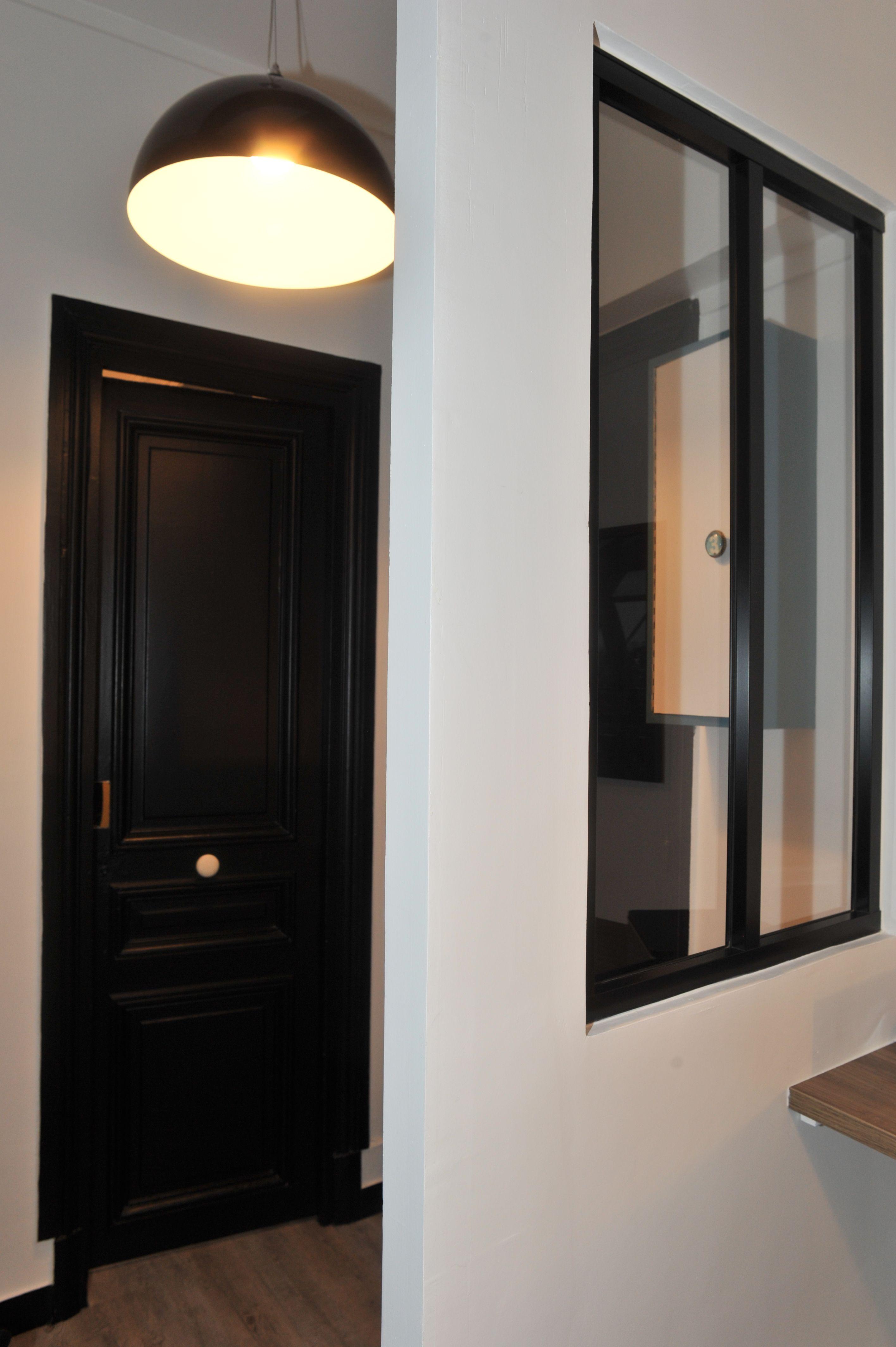 Décoration bureaux cabinet recrutement Paris 5è, Rénovation entrée ...