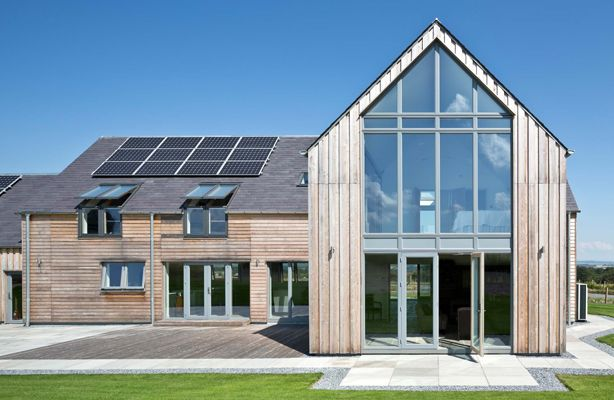 Gable End Glass Google Search Self Build Houses