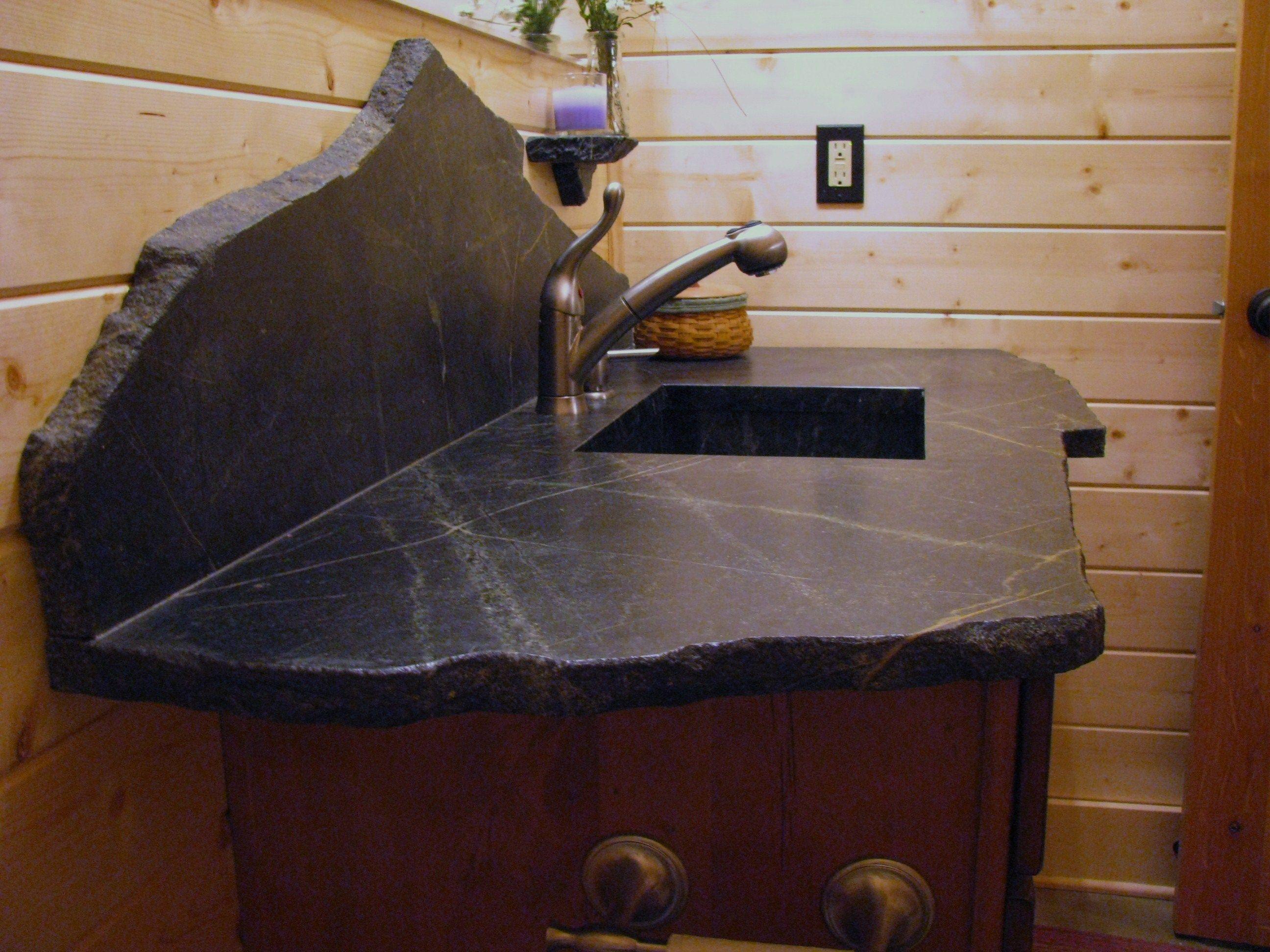 Saratoga Soapstone Creative Vanity Bathroom Countertops Kitchen