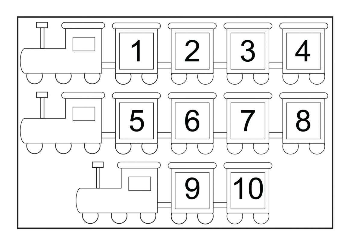8 Number Words For Kindergarten Worksheet