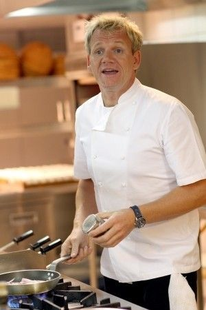 Gordon Ramsay Is A Celebrity Chef Known For Appearing On