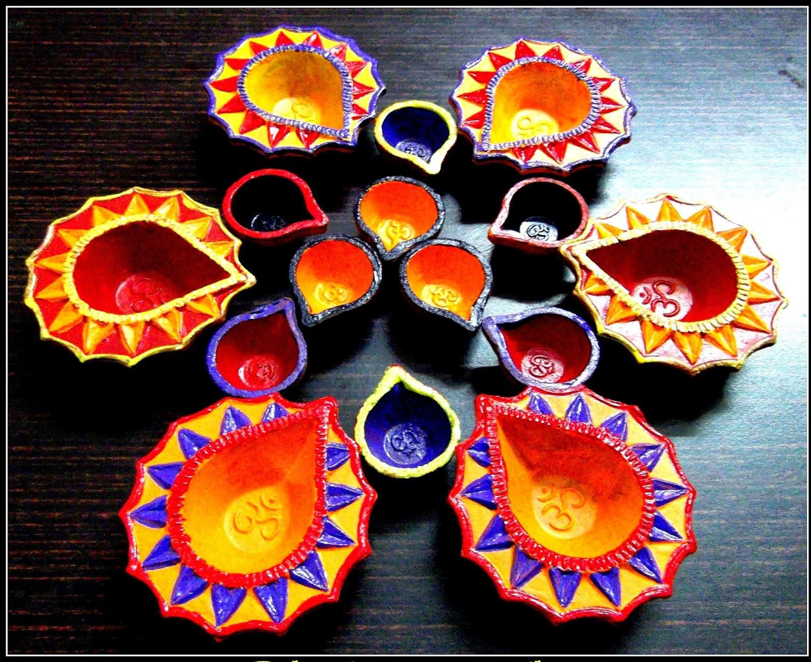 Handmade diwali decoration google search diwali for How to make diwali decorations at home