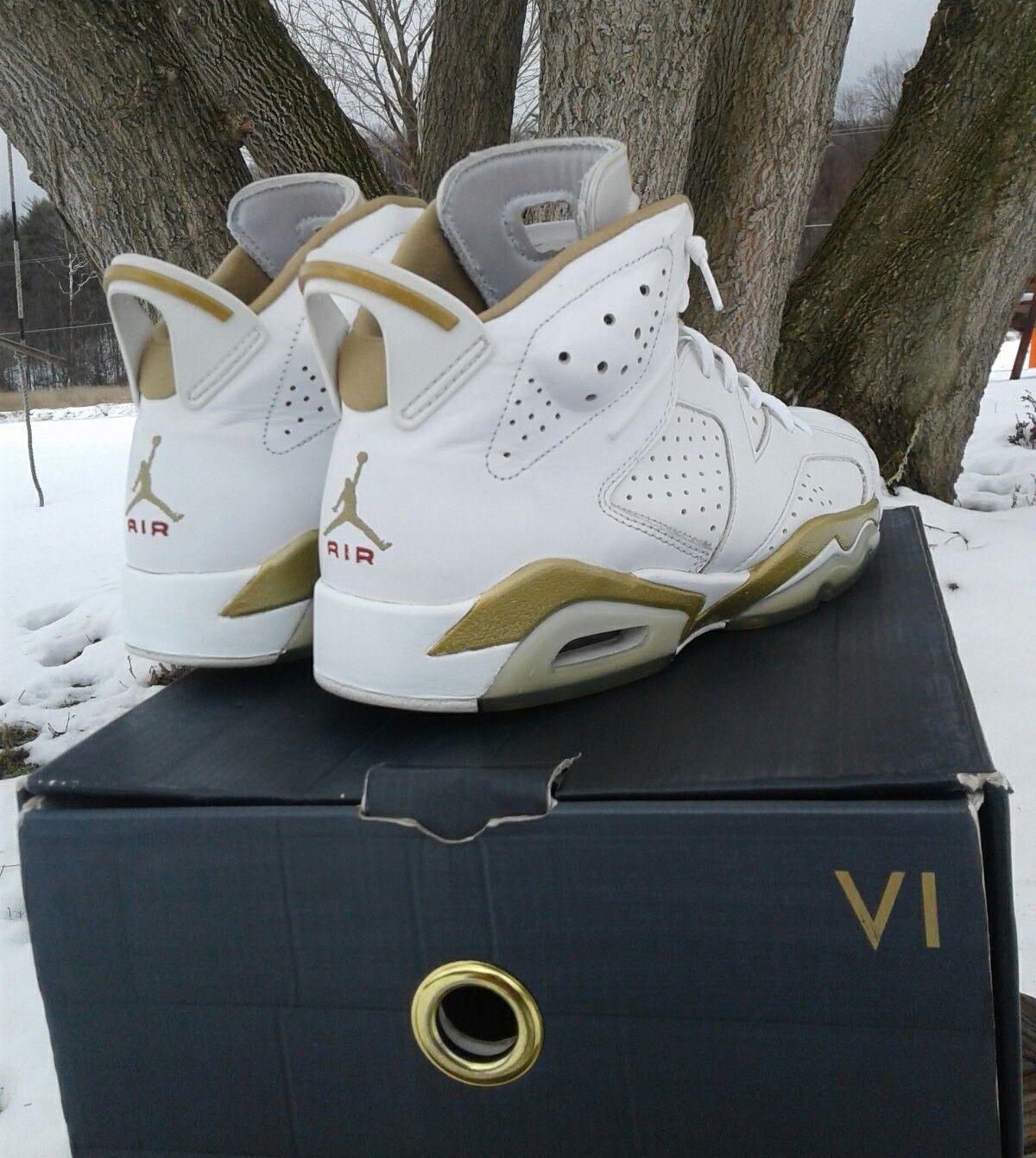 brand new 75e7b c7181 Nike Air Jordan GMP VI 6 Retro GOLDEN MOMENTS 9.5   eBay