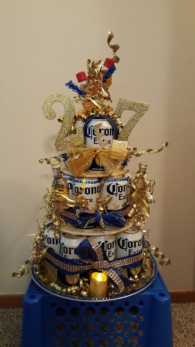 My Sister And I Made This Corona Cake For My Boyfriends Birthday