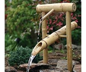 Bamboo Deer Chaser Fountain Why Is It Called That I Wonder