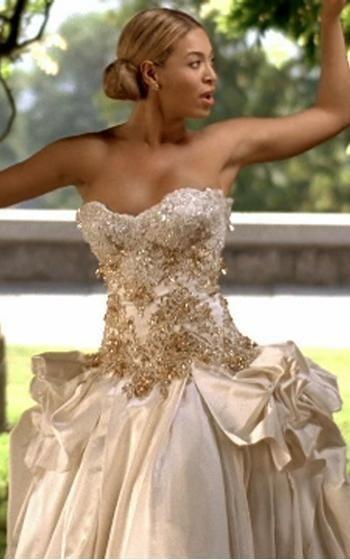 Beyonce Wedding Dress With Images Celebrity Wedding Dresses