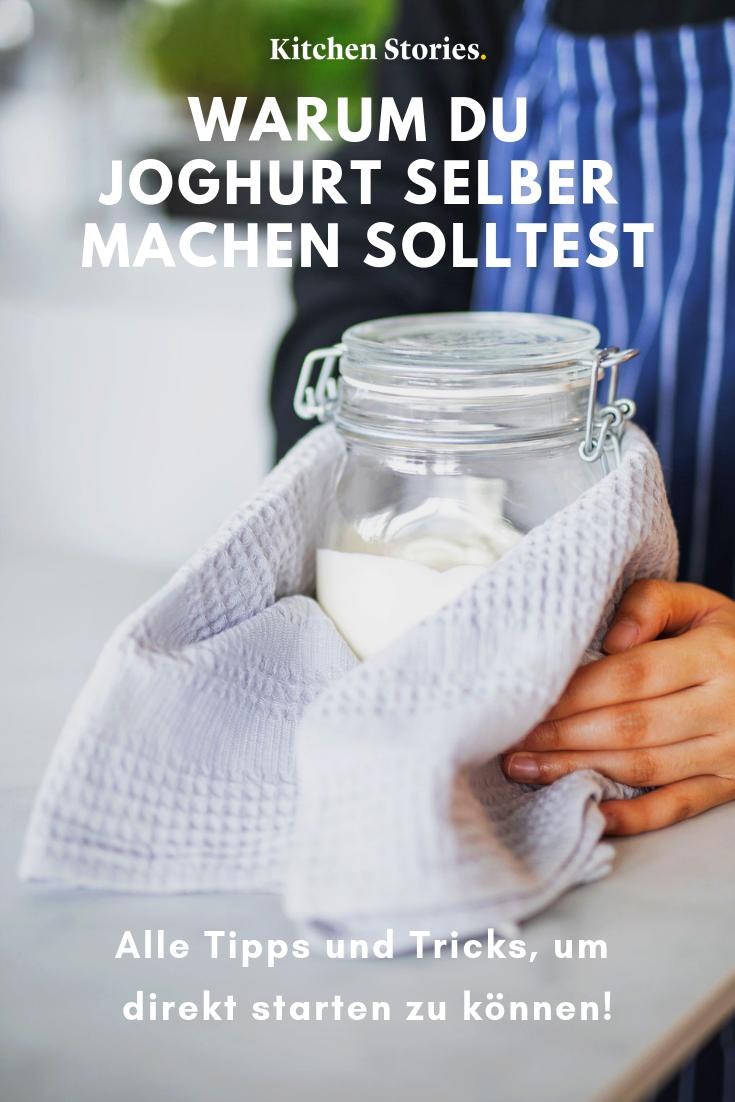 Joghurt selber machen, unglaublich einfach #frischkäseselbermachen