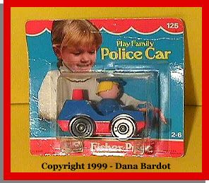 #125 Police car (complete)