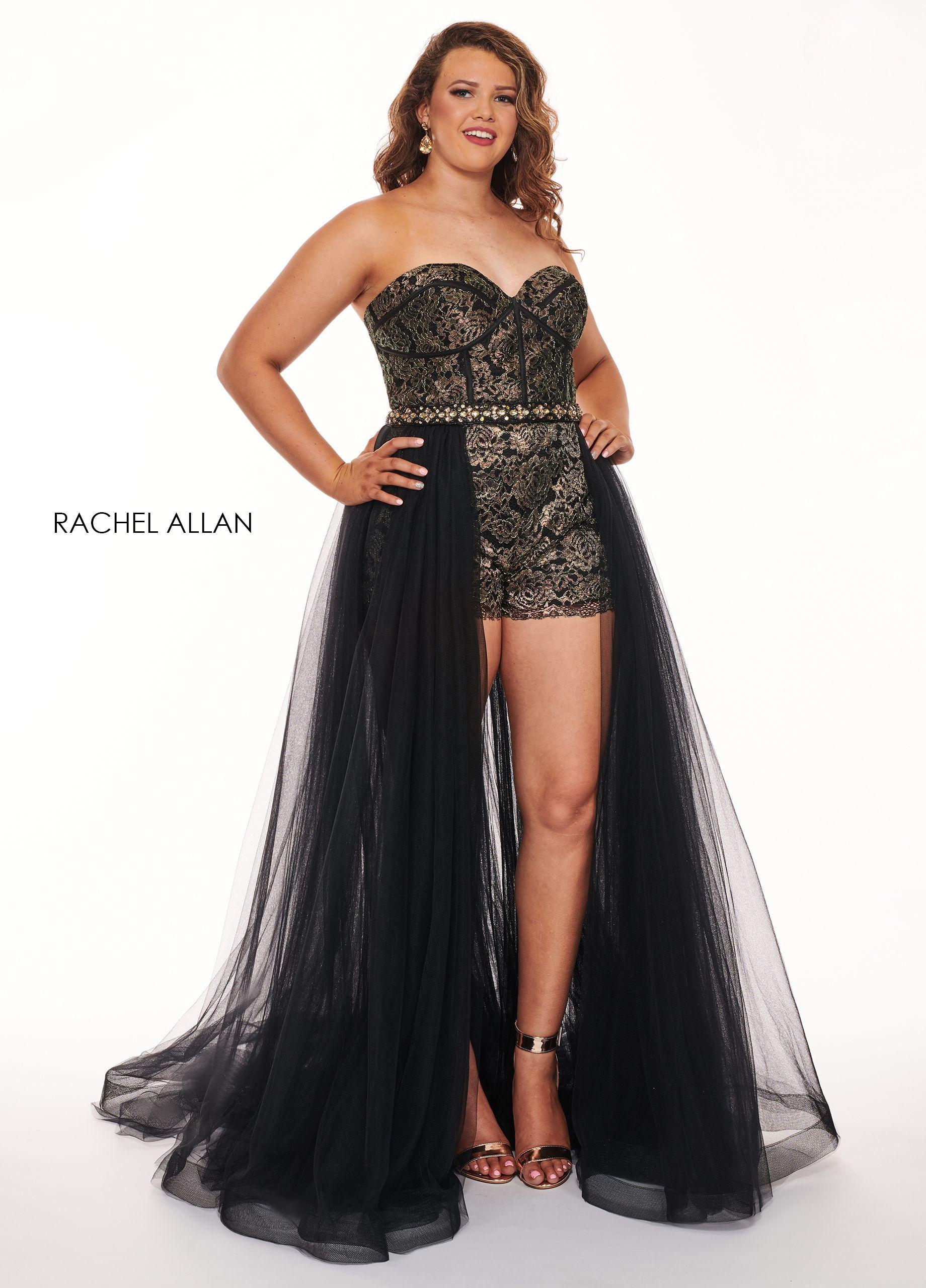 136334daa991 Prom dress 2019 | Rachel Allan Curves Spring 2019 in 2019 | Prom ...