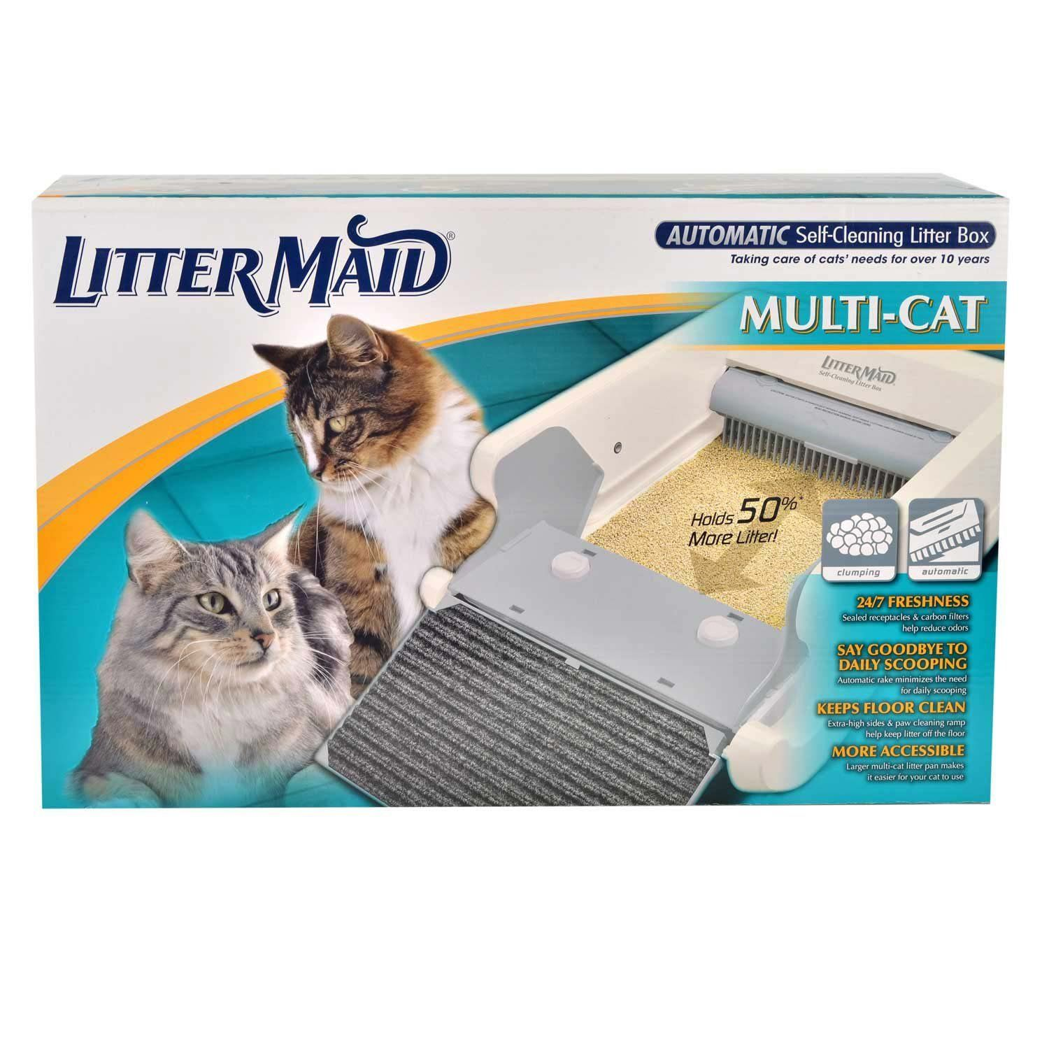 Littermaid Lm 86579 Multi Cat Automatic Self Cleaning Litter Box Discover This Special Cat Product Click The Image Cat Litter Cat Litter Cleaning Li