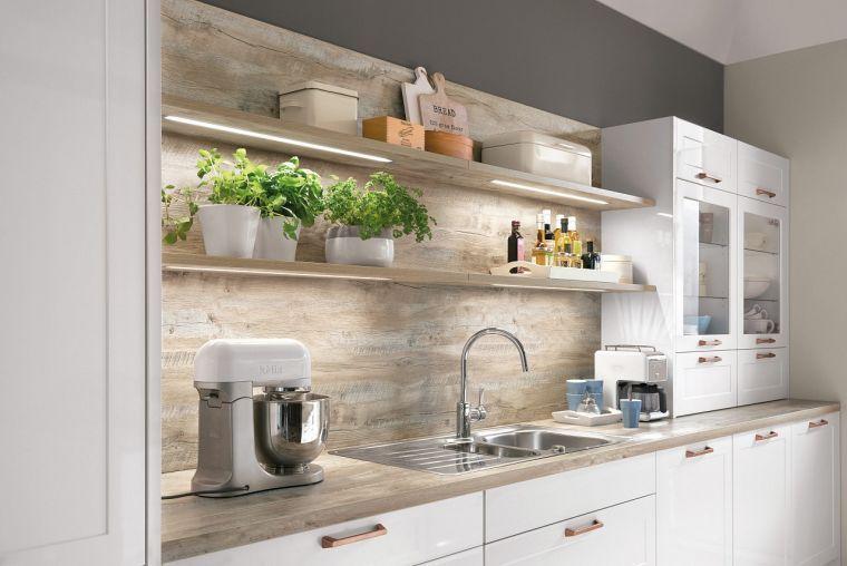Crédence bois pour cuisine, une solution qui fait toute la différence ! - Nolte Küchen Fronten Farben