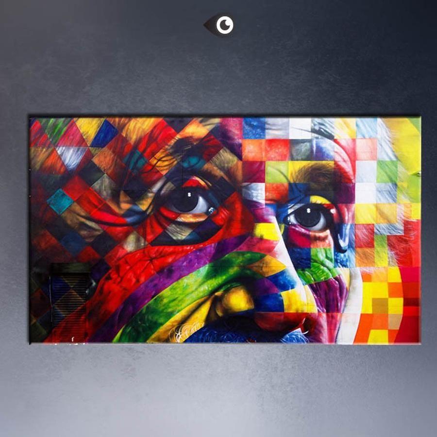 Albert einstein art framing canvas albert einstein and fine art make sure you paint yourself a whole lot of solutioingenieria Choice Image