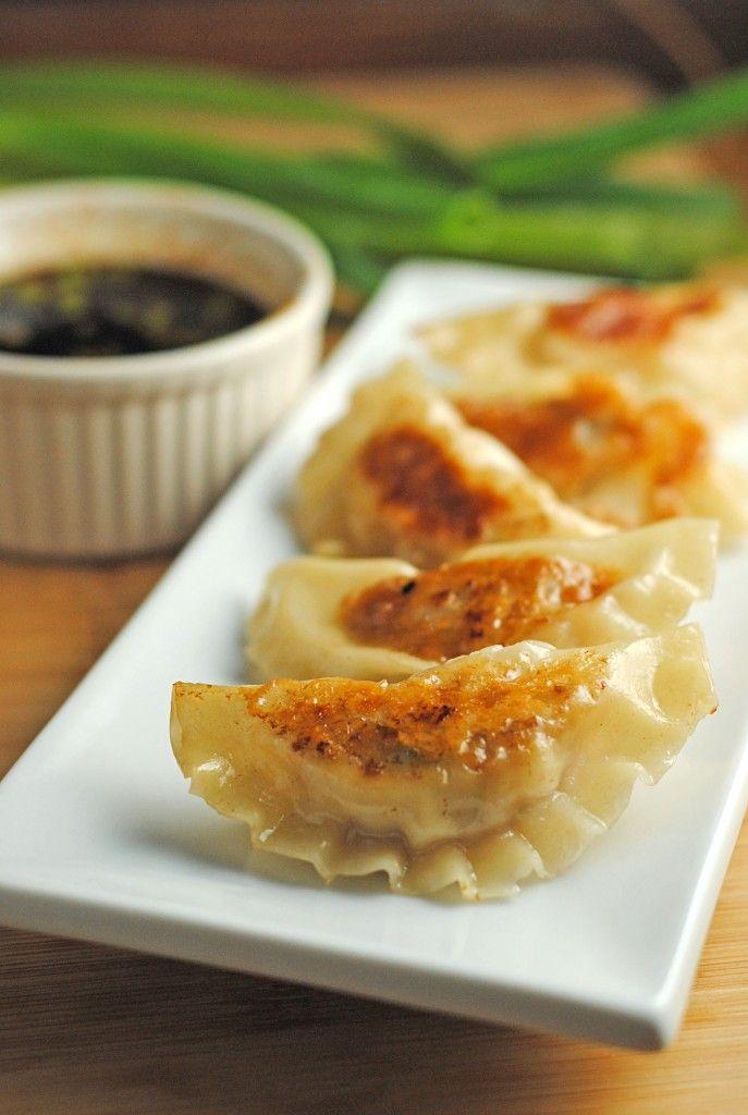Shrimp and pork potstickers food pinterest pork food and recipes finger foods forumfinder Choice Image