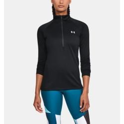 Photo of Under Armor Women's Ua Tech ™ Top with ½-Zip Black Sm Under Armor