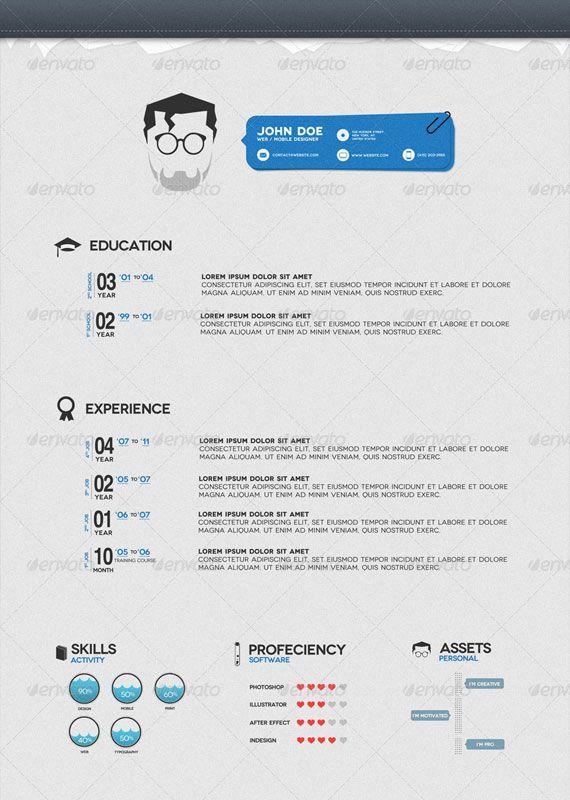 John Doe Cv Resume Design Creative Resume Y Resume
