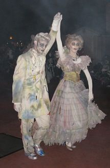 From Haunted Mansion Masquerade Dresses