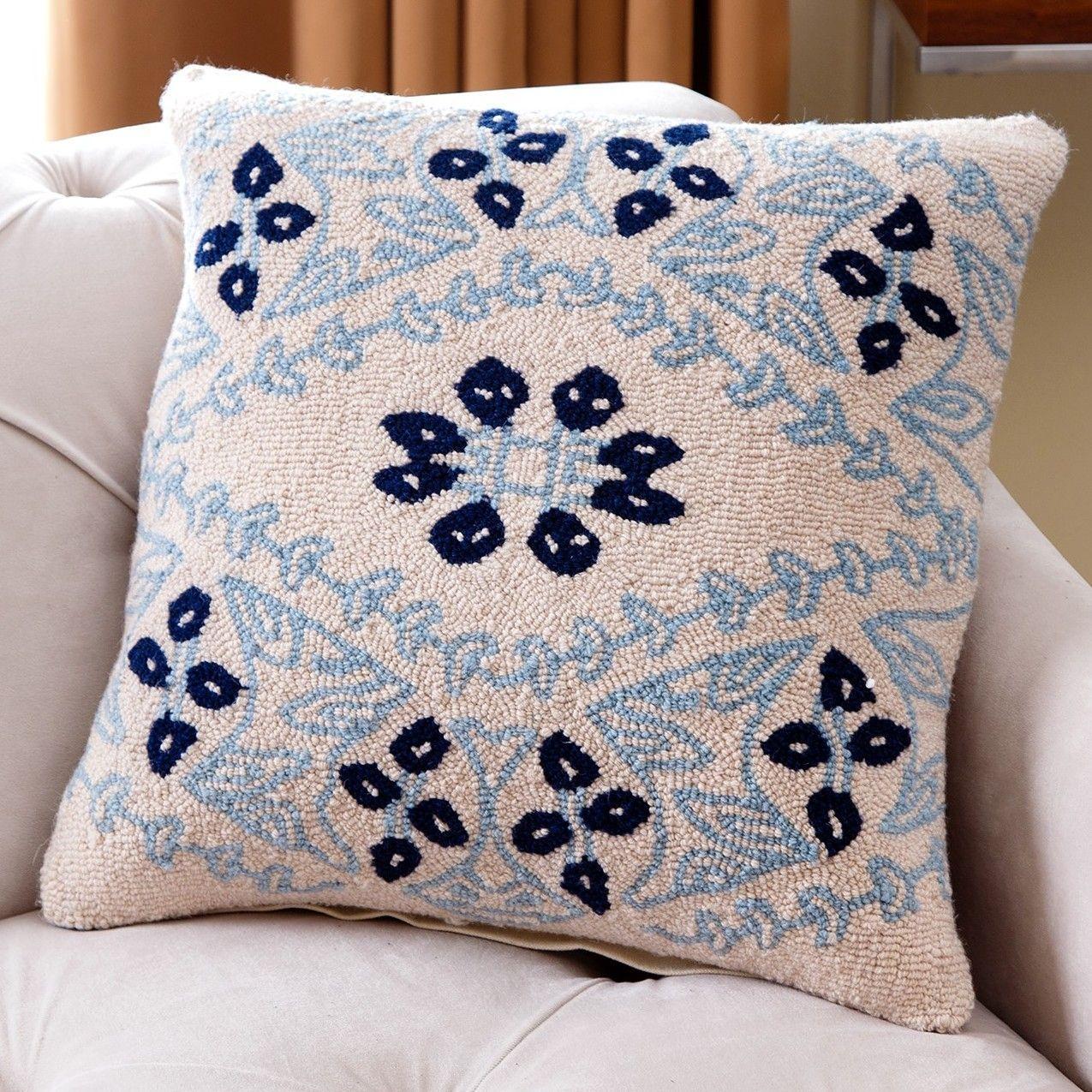 Granborough Wool Throw Pillow