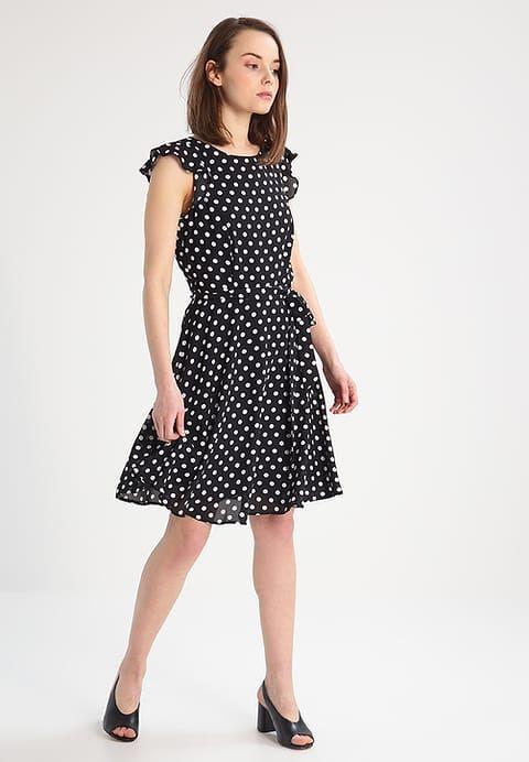 buy online abaec 1c2f3 Wallis Petite Vestito estivo - black - Zalando.it   Fashion ...