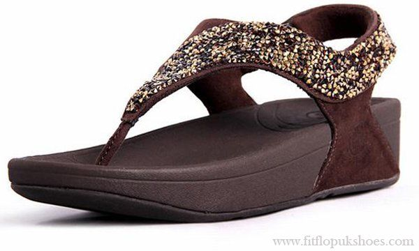 2e7395f8bae915 Coffee Womens Fitflop Sandals Rock Chic S