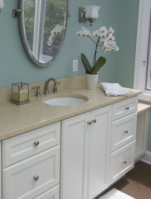 Swell My New Bathroom Color Benjamin Moore Wythe Blue For Home Interior And Landscaping Mentranervesignezvosmurscom