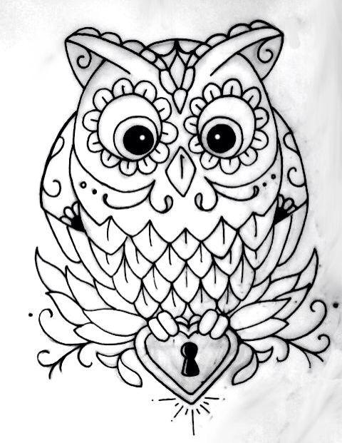 Baykus Goruntuler Ile Cizimler Hayvan Cizimi Owl